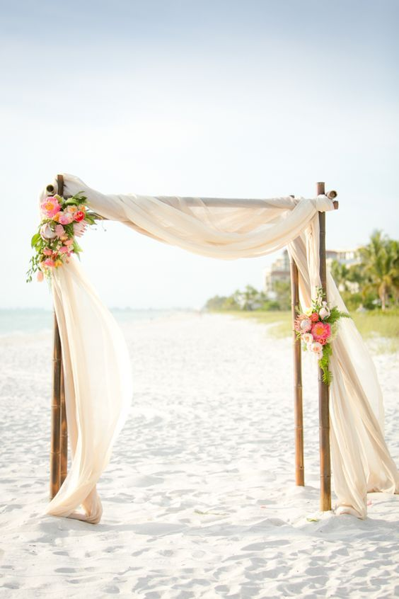 100 Beautiful Wedding Arches & Canopies | Wedding arbors, Wedding .