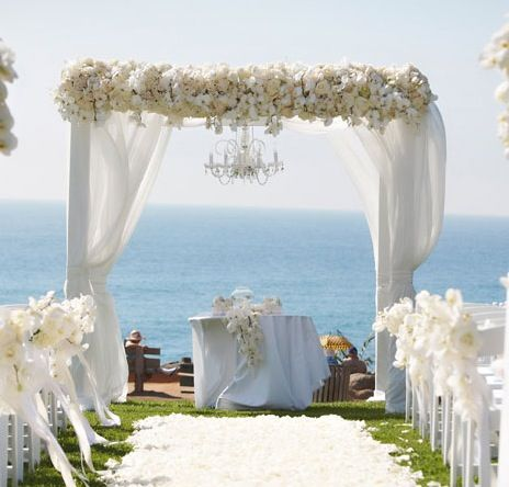 Wedding Decor: Canopy and Arch Inspiration! | Wedding altars .