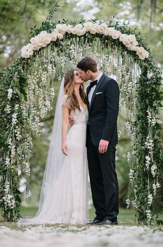 100 Beautiful Wedding Arches & Canopies – Hi Miss Pu