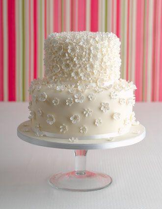 Simple Buttercream Wedding Cakes Inspiration Decor On Cake Design .