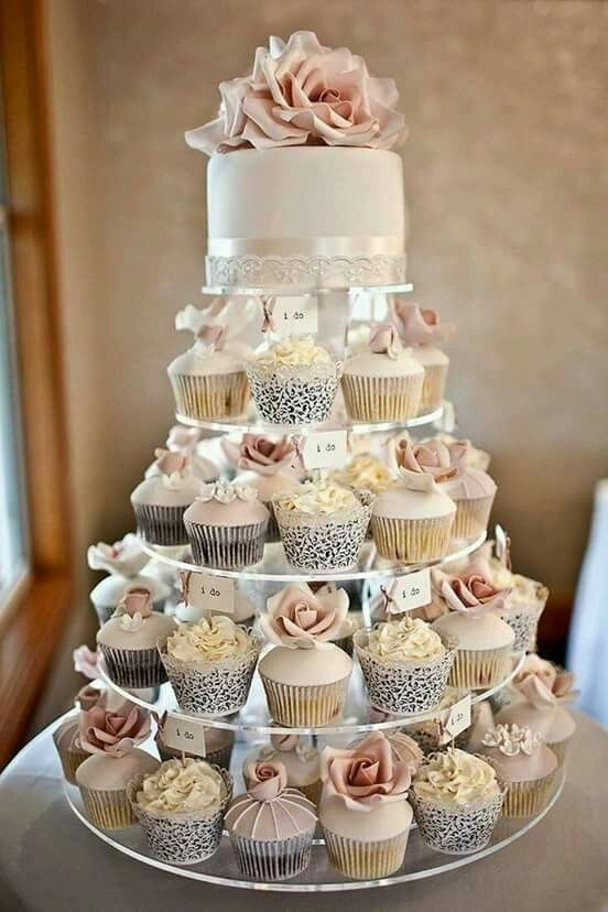 15 Awesome Delicious Weddings Cupcake Inspiration Tiers | Wedding .