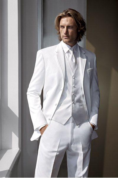 Calvin Klein - Magnum - Wedding Tuxedos - White Tux | White tuxedo .