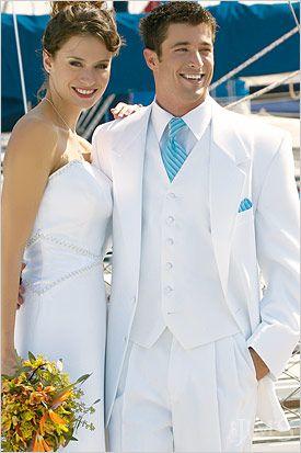 Metropolitan Formalwear at SEARS Fair Oaks Mall | White wedding .