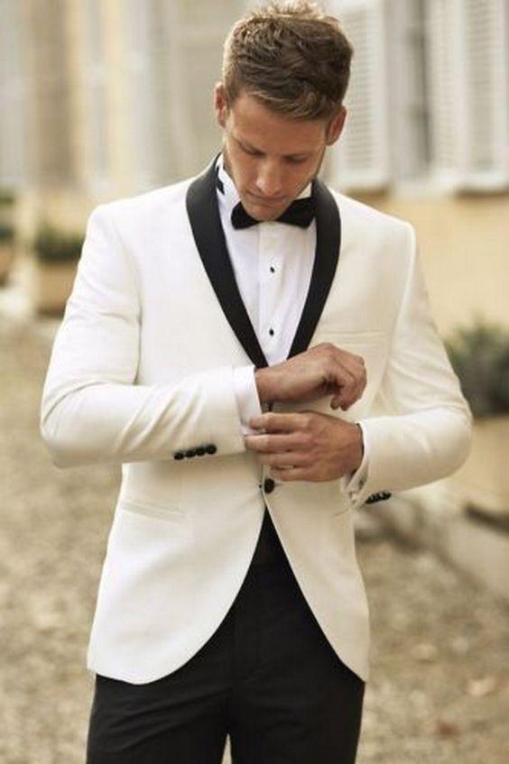 Groom Fashion Inspiration – 45 Groom Suit Ideas | Black suit .