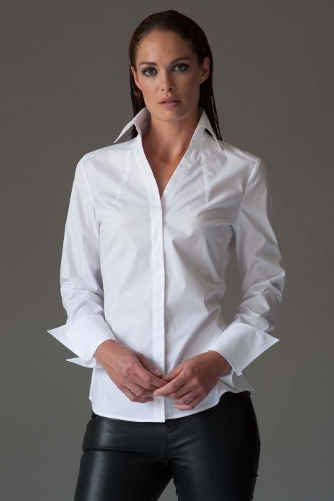 Madelena in 2020 | White shirts women, Perfect white shirt, Women .