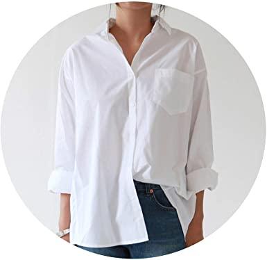 Casual Loose Women Shirts AutumnFashion Collar Blouse Long Sleeve .