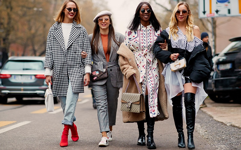 TOP 10 FASHION TRENDS FROM AUTUMN/WINTER 2018 FASHION WEEKS .