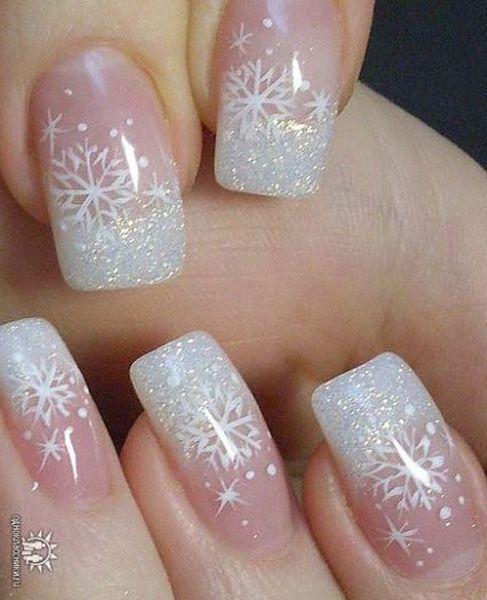 Wonderful Winter Nails Ideas – fashiontur.com in 2020 | Christmas .