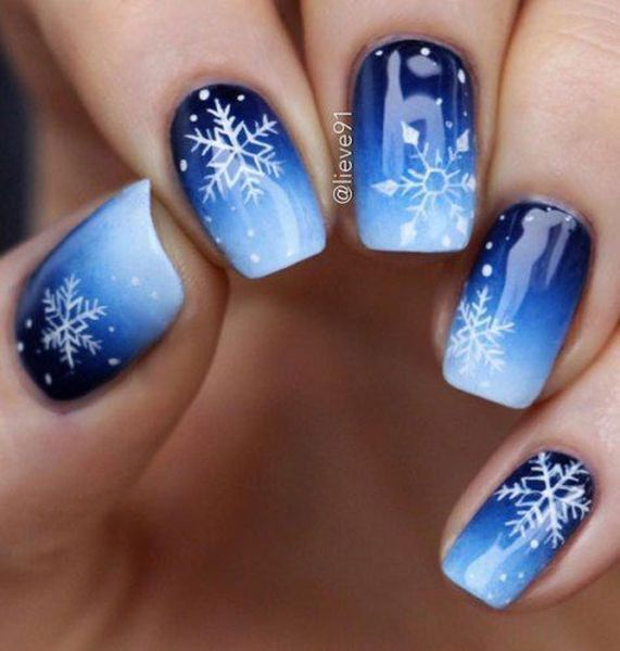 11 wonderful winter nails ideas in 2020 | Nail colors winter .